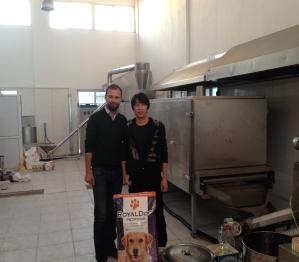 土耳其狗糧設備安裝