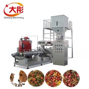 雙螺桿膨化狗糧生產設備